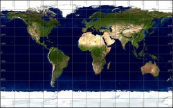 GLG Map Server: Rectangular Projection with Shaded Relief