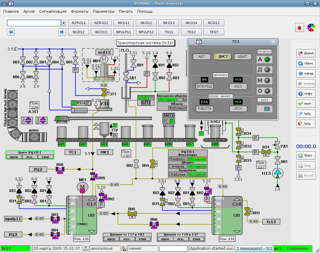 Real Time Hmi And Scada For C Java Net Linux Windows Nuclear Power Plant Diagram Animation Click On Pictures